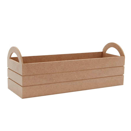 (7448) Base rectangular con agarraderas 38x14cm