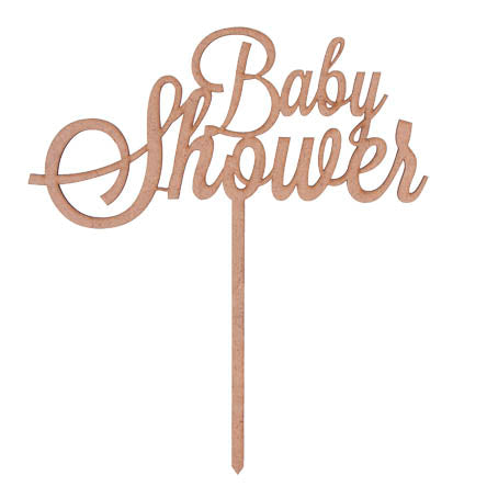 Topper Baby Shower 33x21cm