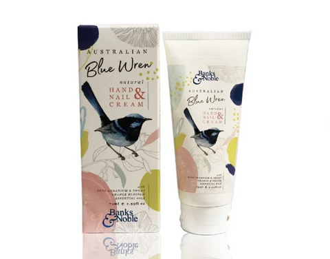 Banks & Noble Natural Blue Wren Hand Cream (75ml) 藍烏系列天然美甲及護手霜