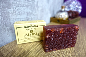 Almond Oil with Honey Handcrafted Luxury Herbal Soap 蜂蜜杏仁精油手工芳療皂