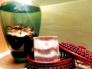 Arabian Royal Oud Handcrafted Luxury Herbal Soap (Body Wash & Face Wash) 尊貴沉香精油手工皂 (沐浴+潔面兩用)