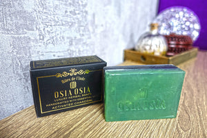 ctivated Charcoal with Peppermint Oil Handcrafted Luxury Herbal Soap 活性炭薄荷精油手工芳療皂