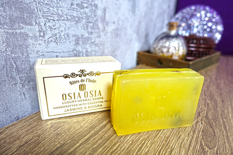 Jasmine and Mogra Handcrafted Luxury Herbal Soap 茉莉Morga精油手工芳療皂