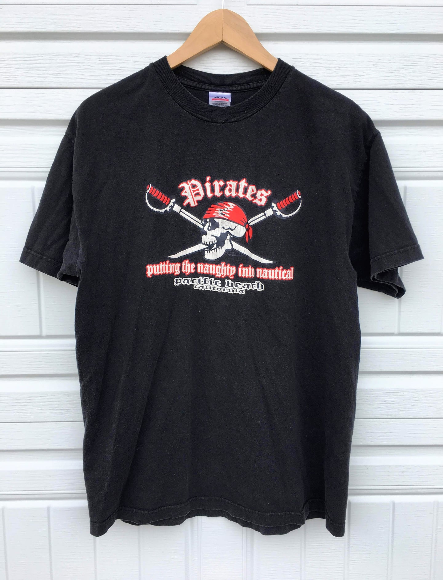 Naughty Pirates Tee - Large