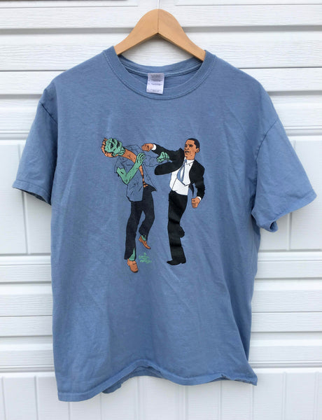 Obama The Zombie Killer Tee - Large