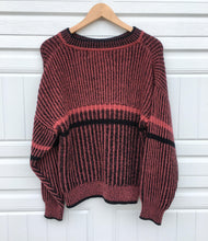 Load image into Gallery viewer, Vintage Rose Crewneck Sweater - Small
