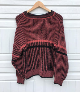 Vintage Rose Crewneck Sweater - Small