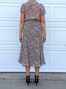 Spring Floral Skirt Set - Medium
