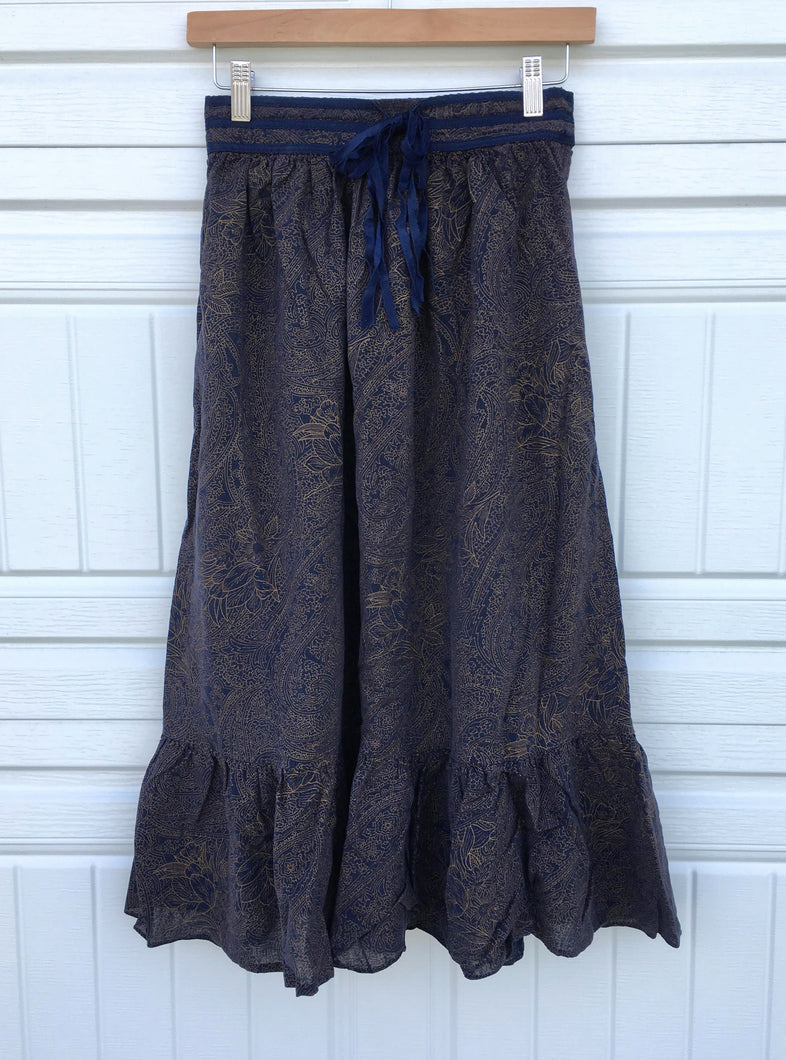 Ribbon Floral Skirt - XS