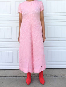Bubblegum Wide Legged Jumper - M/L