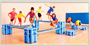 Best Railyard Obstacle Course for youth physed physical education
