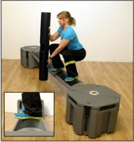 Railyard Plyo Box/Rail for functional exercise training