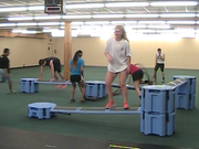 Best Railyard Obstacle Course exercise course for sports conditioning