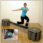 Railyard portable obstacle course exercise product