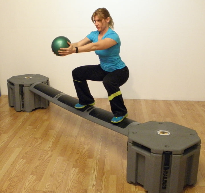 Railyard Obstacle Course exercise course for personal training