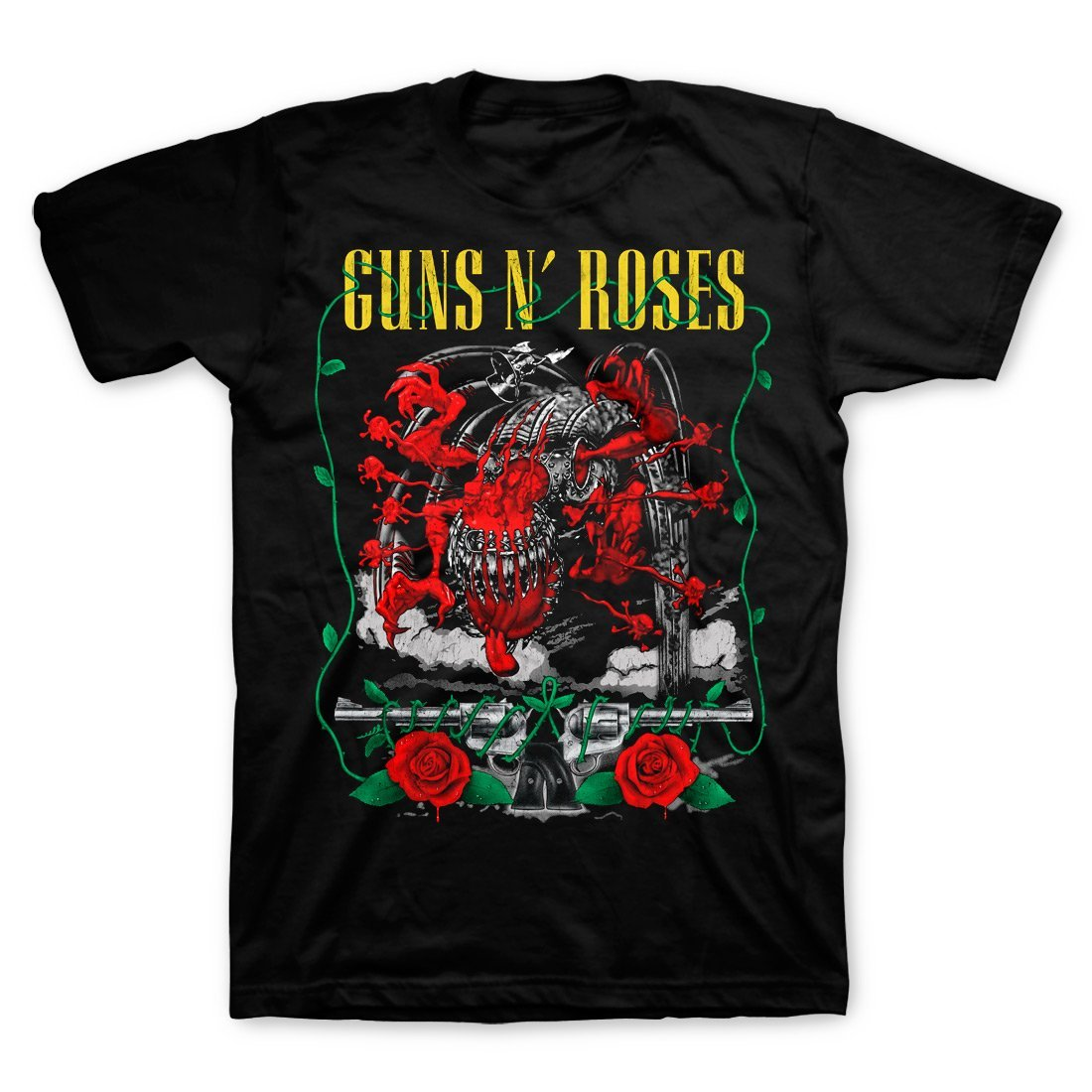 Guns N' Roses | Appetite Creature And Pistols T-Shirt