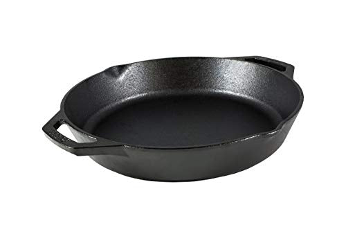 Lodge L10SKL Cast Iron Dual Handle Pan, 12 inch: Gateway
