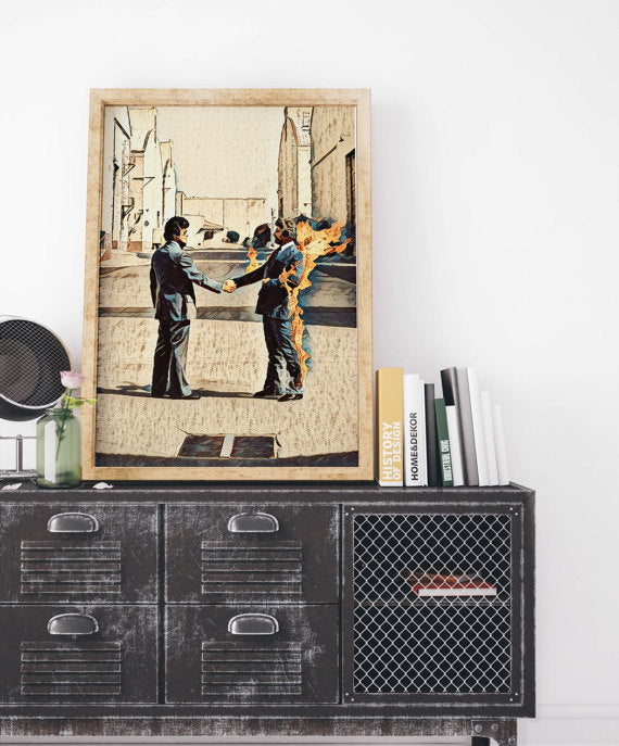 Pink Floyd Painting Poster Art Painting Print
