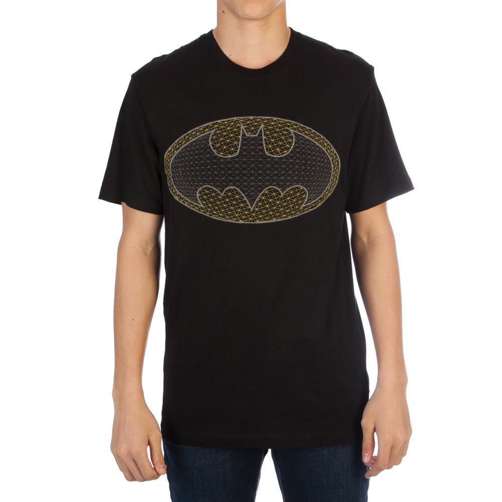Batman Pixel Bat Logo T-shirt Tee Shirt For Men