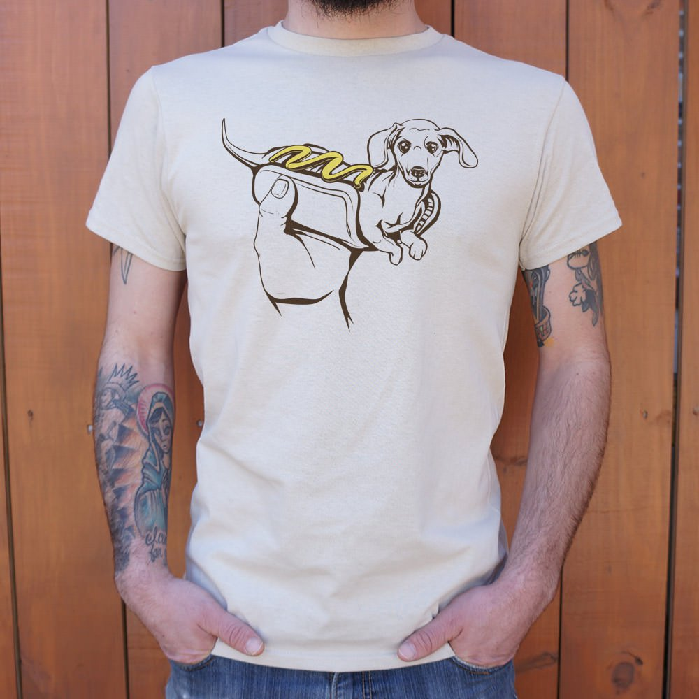 Hot Dog Dog T-Shirt (Mens)