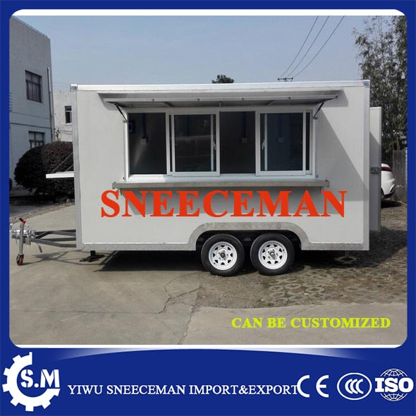 mobile kitchen truck food van sandwich trailer hamburger vending cart with promotion price