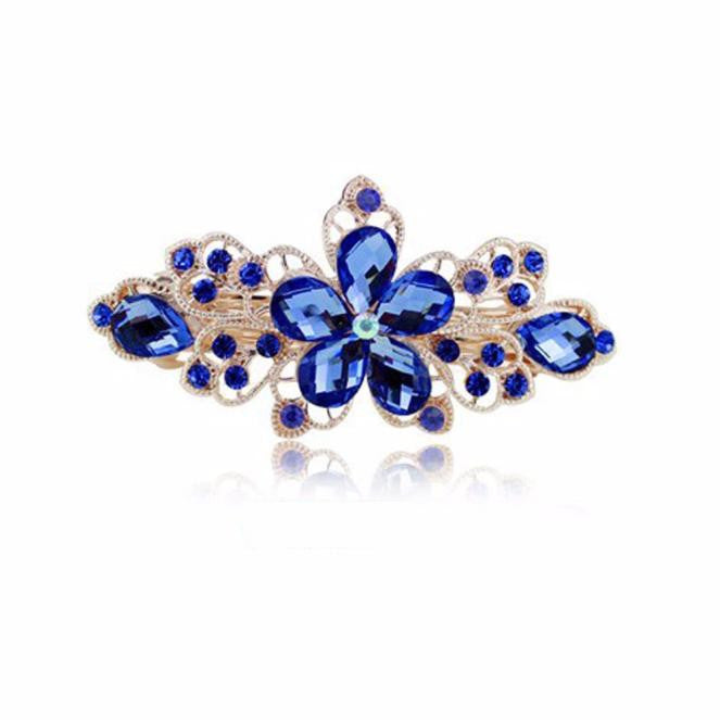 Flower Rhinestone Hair Pins Hairpins Clip Hairpin Hair Accessories DB