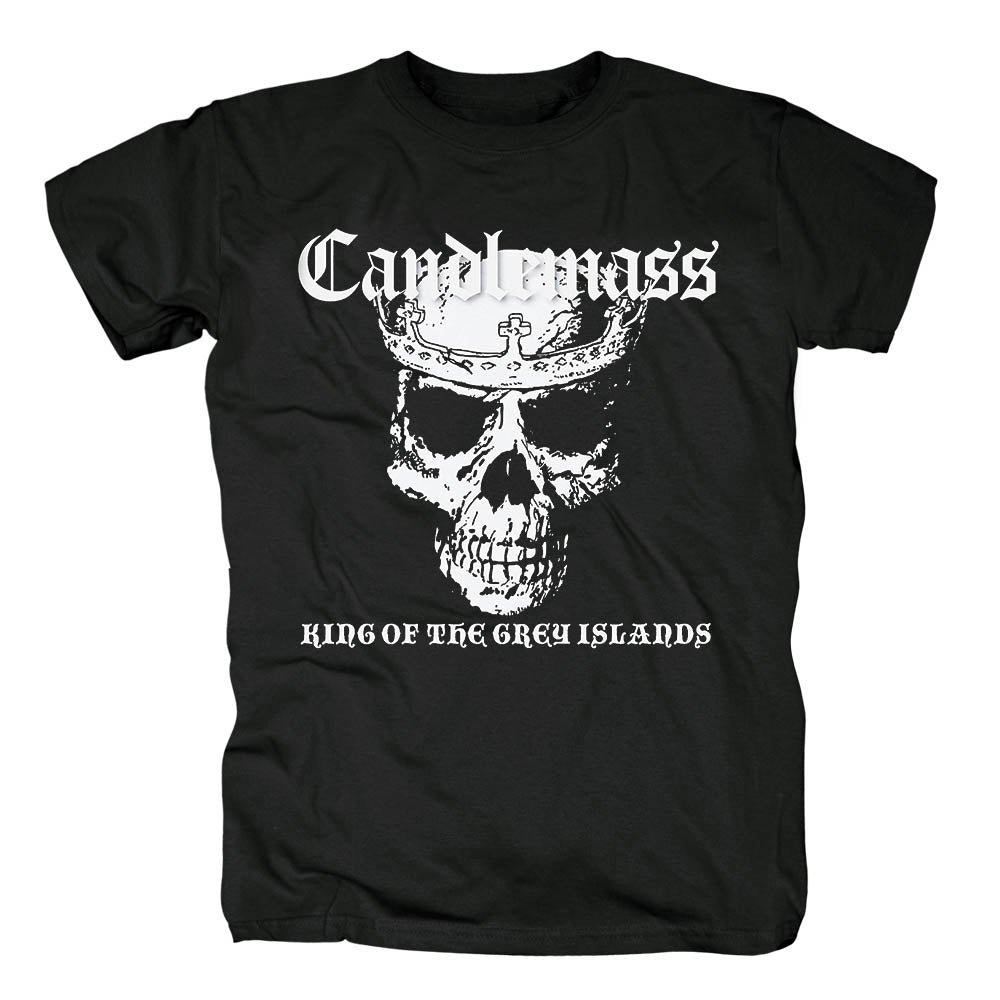Free shipping Candlemass Death Magic Doom cover men's black traditional doom metal heavy metal T-Shirt