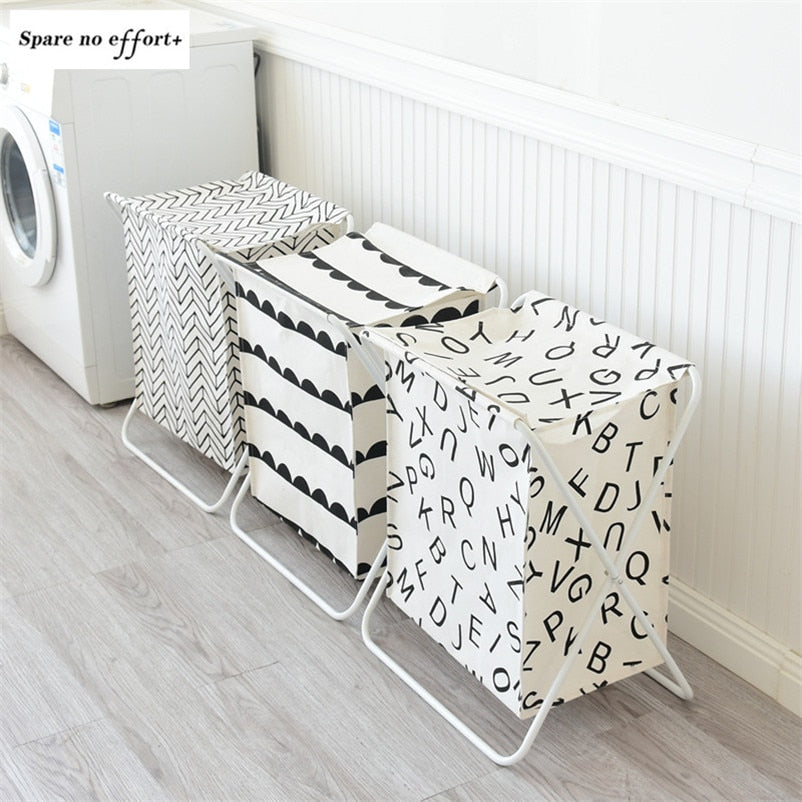 Laundry Basket Bag Laundry Hamper Storage Baskets Toy Clothing Organizer Large Capacity Laundry Bag Cestas De Almacenamiento
