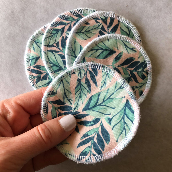 Reusable Facial Rounds - Tropical Print