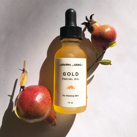 Gold Facial Oil - Large