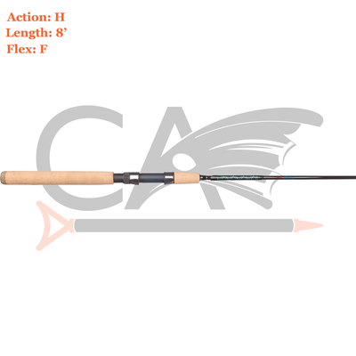 Coastal Clearwater Pass Rod SWS-8H