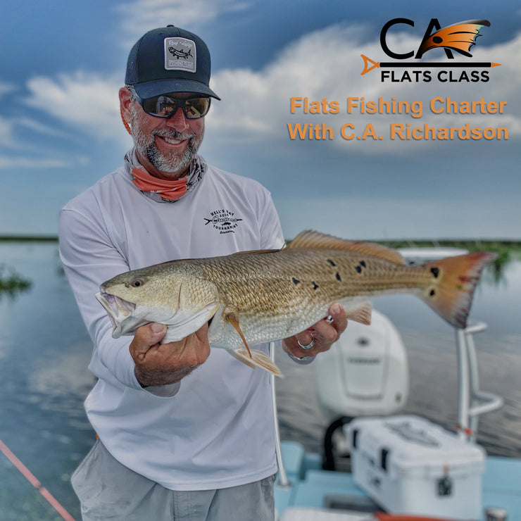 Flats Fishing With Captain C.A.