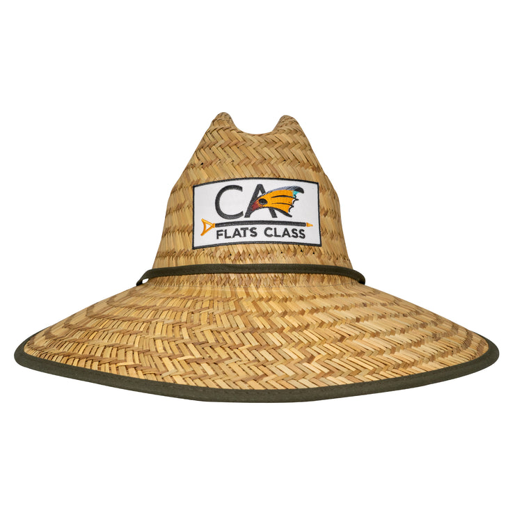 C.A. Olive Straw Hat