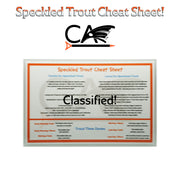 C.A. Speckled Trout Cheat Sheet