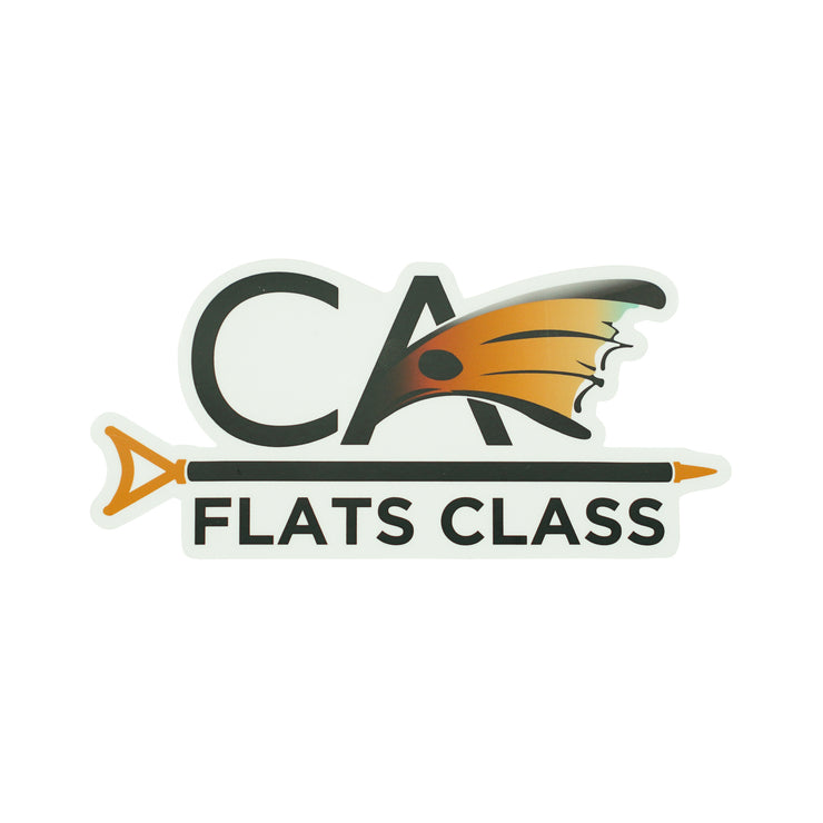 Large C.A. Flats Class Decal