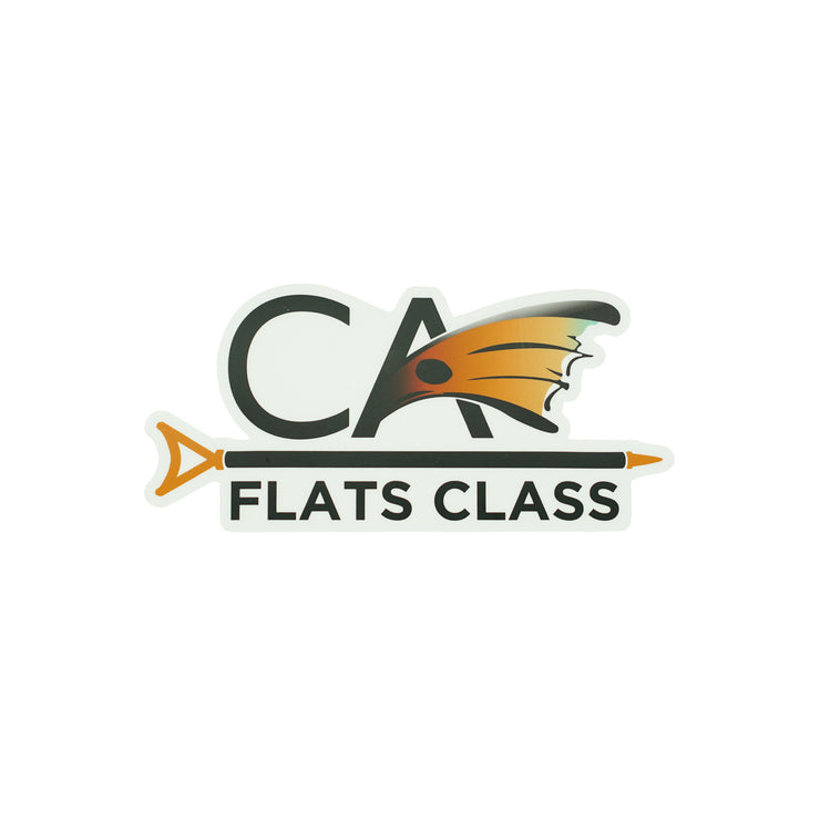 Small C.A. Flats Class Decal