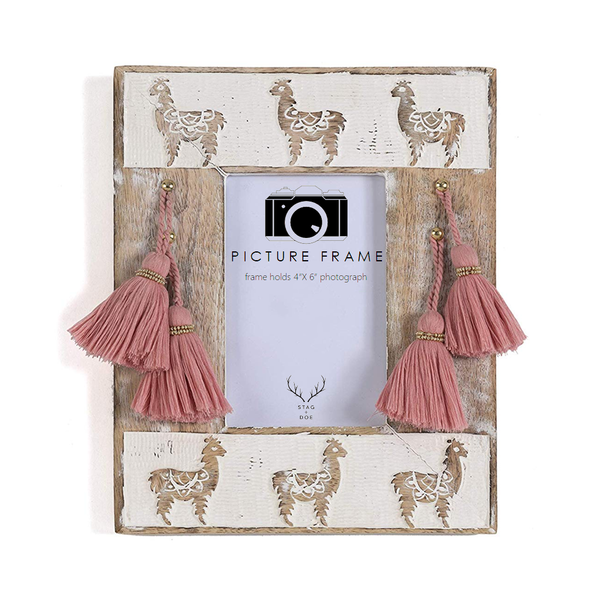 Natural Elysium Llama Photo Frame