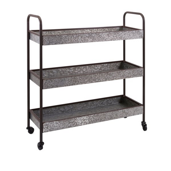 Homestead Galvanized Cart