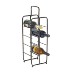 8-Bottle Iron Wine Storage Rack