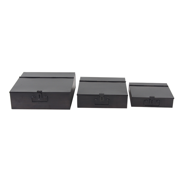 Metal Square Half-Fold Decorative Box