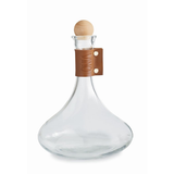 Leather & Glass Decanter