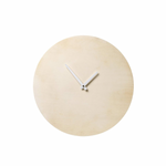 Round Wood Wall Clock