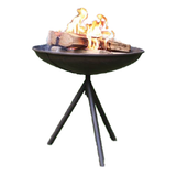 Rustic Patio Fire Pit