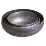 Galvanized Bowl Set