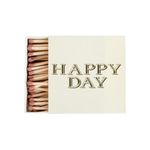 Happy Day Square Matchbox