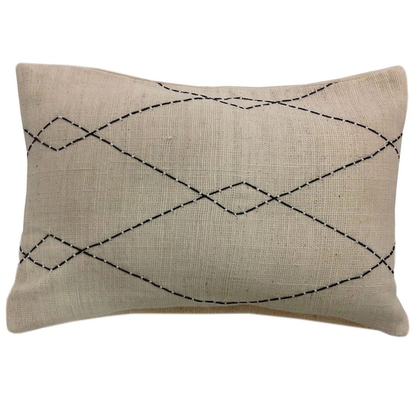 Wool Stitched Pillow