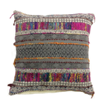Embellished Multi Colored Pillow