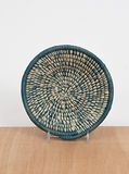 Handwoven Uganda Niagara Heathered Bowl