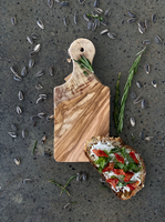 Olive Wood Rustic Small Cutting Board