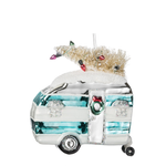 Camper w/ Tree Ornament